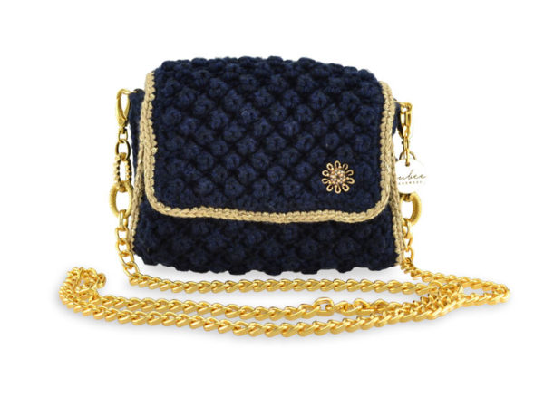 Jewel  Charm Μικρή Blue Black