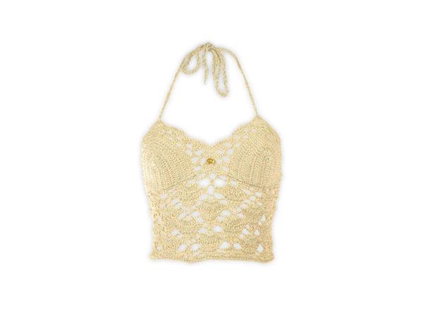 Danae crochet crop