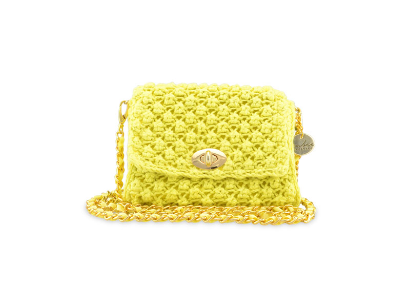 Classic Rubee Small Sparkly Lime