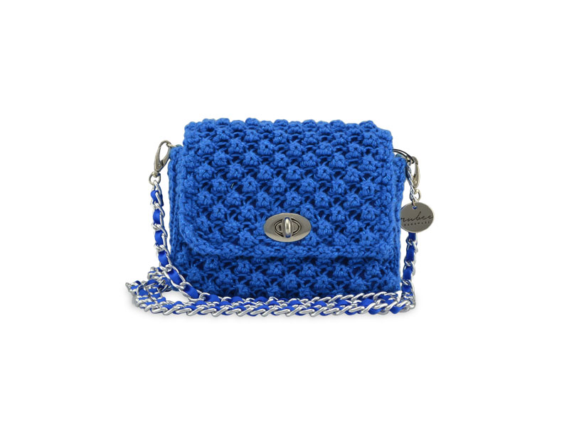 Classic Rubee Small Sparkly Navy Blue