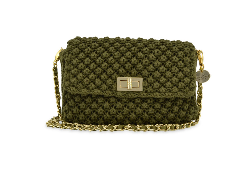 Classic Rubee Large Olive Green