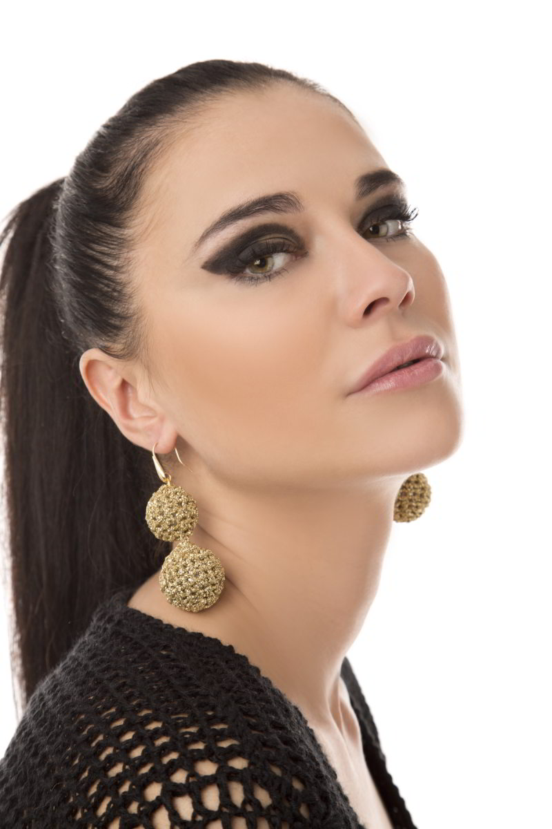 Earrings EA-40 Gold